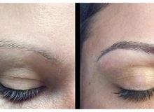 Zaterdag 23 september Permanente make up wenkbrauw 3D hairstroke voor € 199,-