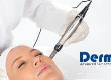 Cosmetische dermapen behandeling gelaat in combinatie met onze lichttherapie behandeling. Boek nu uw afspraak voor €135,- ipv. €180,- Deze actie is geldig t/m 3 oktober.